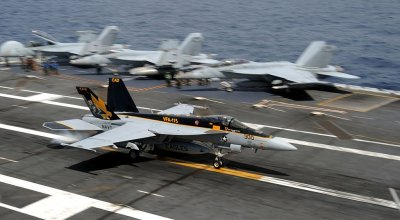 VFA-115 US Navy Strike Fighter Squadron sets milestone of 100,000 hours mishap free flight time