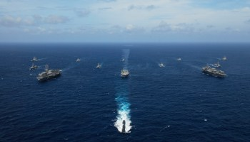 Chinese naval exercises highlight military presence abroad