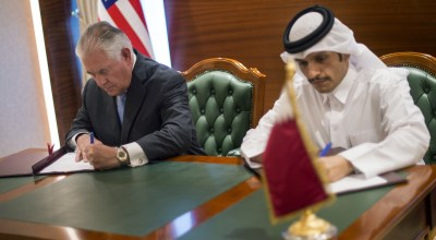 Tillerson heads home from Qatar with no resolution to regional dispute
