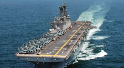Senate asks Navy to consider going small with future aircraft carriers