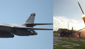 U.S. responds to North Korean ICBM test with B-1B bomber flights and a successful THAAD missile intercept test