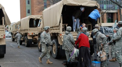 Texas mobilizes National Guard, closes down Naval Air Stations, preps for Hurricane Harvey
