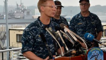 Navy relieves 7th Fleet commander over collisions as China calls U.S. ships a 'hazard' in the Pacific