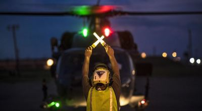 HH-60G Pave Hawk mobilizing to assist in Hurricane Harvey efforts