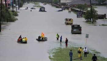 Pentagon Has Sent 6000 Troops to the Houston Area in Harvey Support