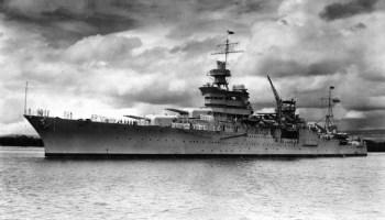 Billionaire Paul Allen finds lost WWII cruiser USS Indianapolis in the Philippine Sea
