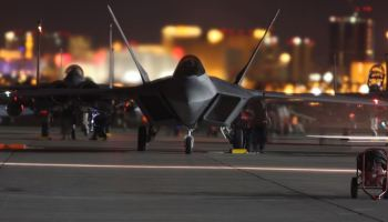 F-35 & F-22 5th generation stealth aircraft steal the show at Red Flag 17-3