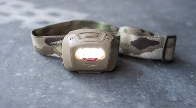 Princeton Tec Quad Tactical Headlamp