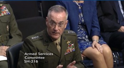 Chairman of the Joint Chiefs identifies China as most likely threat to US by 2025, reaffirms support for trans service members