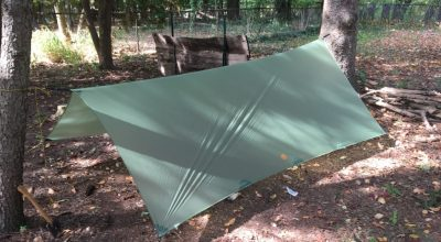 Gossamer Gear Twinn Tarp | Stay dry while travelling superlight