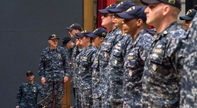 Navy awards 36 sailors for heroism in the aftermath of USS Fitzgerald collision