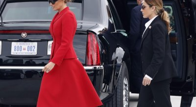 Melania Trump has a Secret Service agent who looks strikingly similar to her — and it's fueling a wild conspiracy theory
