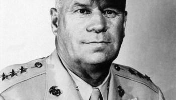 USMC General Christian F. Schilt