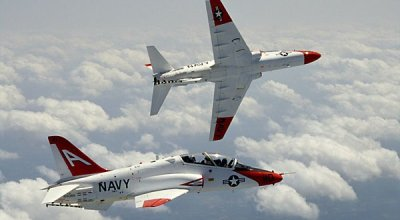 US Navy confirms instructor and student killed in T-45C trainer crash