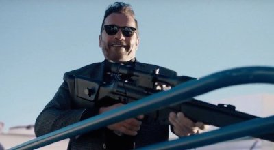 'Killing Gunther' is a bad SNL sketch with very little action, comedy, or Schwarzenegger