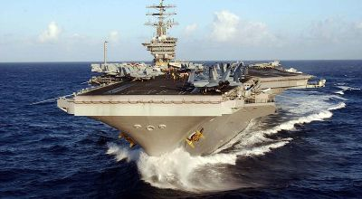 USS Nimitz Arrival Makes Three US Aircraft Carriers in Western Pacific
