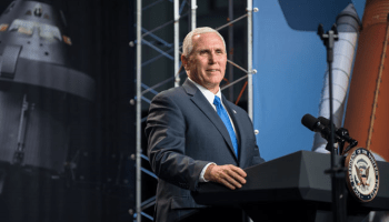 Vice President Pence Says the US Will Go Back to the Moon!