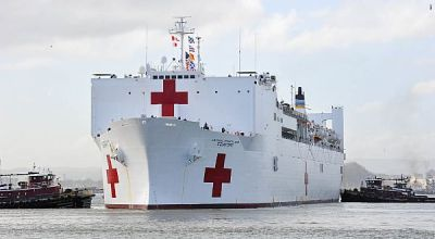 Take a look inside the massive Navy hospital ship tasked with saving lives in Puerto Rico