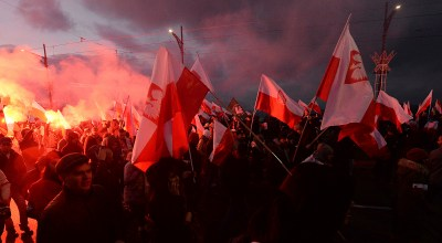Polish far-right march on Independence Day