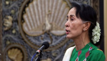 Backlash against Aung San Suu Kyi's silence begins to take form