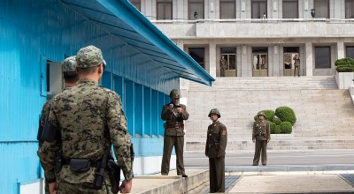 North Korean defector was shot five times as he fled across the DMZ
