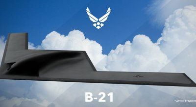 A top secret desert assembly plant starts ramping up to build Northrop's B-21 bomber