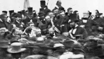 November 19, 1863, President Lincoln Delivers the Gettysburg Address