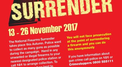 UK: National Gun Surrender