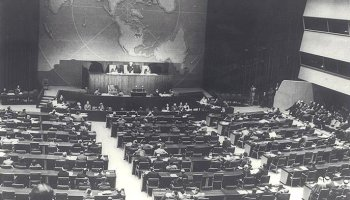 November 29, 1947, the U.N. Partition Plan for Palestine is Adopted