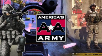 When the US Army uses a video game for recruitment