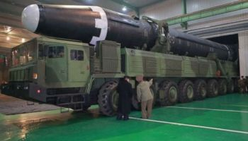 Pictures of North Korea's new missile have been released... and it's big