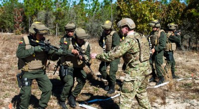 SOF Pic of the Day: Green Berets train Colombian commandos