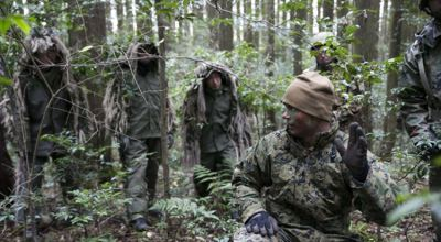 Watch: US Marine and Japanese Scout Snipers conduct stalk training