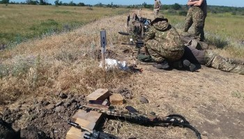 Training with the Ukrainian army's elite snipers: Range time