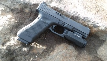 The Glock 17, a pistol for fighting