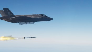 Could the F-35 Actually Help Intercept a North Korean ICBM?