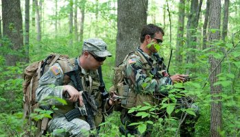Selection land nav basics, pinpoint your location, orient the map
