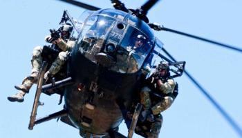 SOF Pic of the Day: Rangers descend on a Little Bird