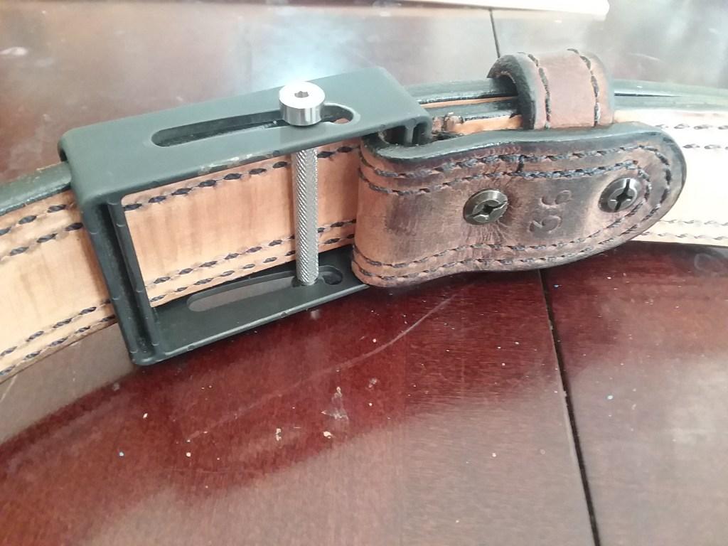 Mean Gene Leather 'Victory Aegis' belt