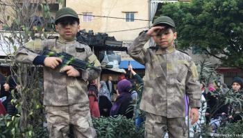 Hezbollah teaches hate to the very young over the pretext of Jerusalem
