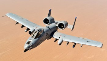 Watch: See what it's like to be on the receiving end of an A-10 Warthog strafing run