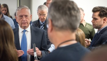 Mattis discusses Olympics, North Korea, and why he won't read 'Fire and Fury' book