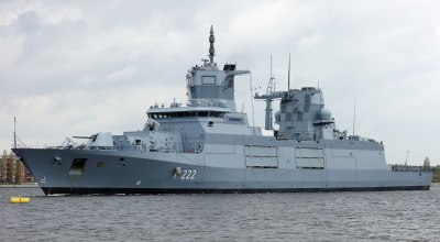 German engineering yields new warship that isn't fit for sea