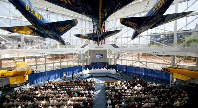 Watch: Naval Aviation Museum & history of the Blue Angels