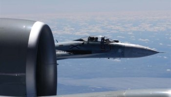 Russian Jet Flies Within 5 Feet of US Jet Over Black Sea