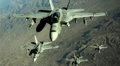 Watch: Take a Wild Ride on an F/A-18 Low Level Flight