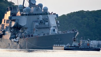 US Navy files criminal charges against commanders of ships that collided with merchant vessels