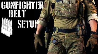 Watch: Gunfighter belt setup / First line gear (2018 ver)