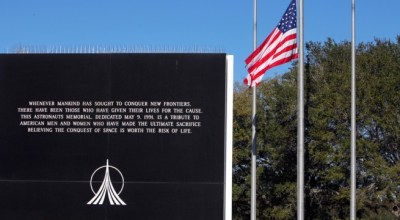 Watch: NASA honors those lost in America's space program