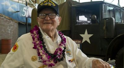 Lt. Jim Downing, the second oldest living survivor of the attack on Pearl Harbor, passes away at 104